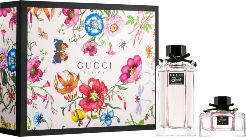 Gucci Flora by Gucci – Gorgeous Gardenia darilni set
