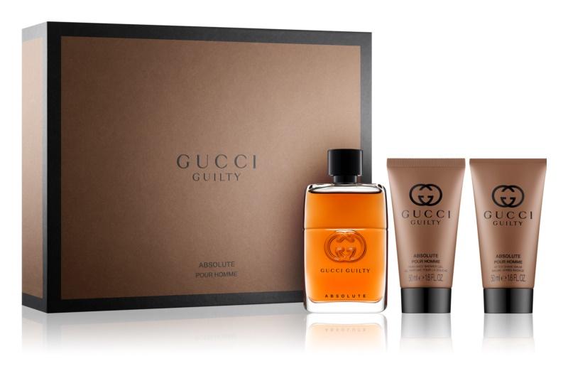 Gucci Guilty Absolute dárková sada I.