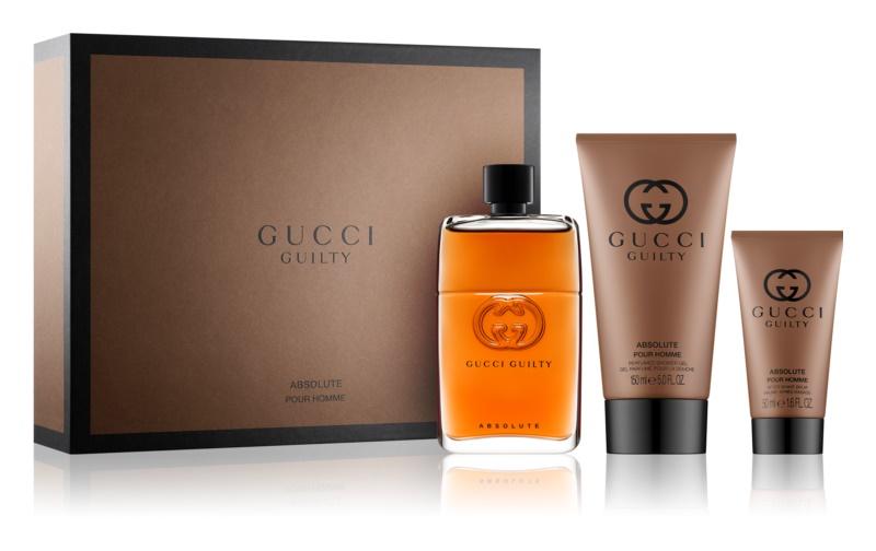 Gucci Guilty Absolute dárková sada II.