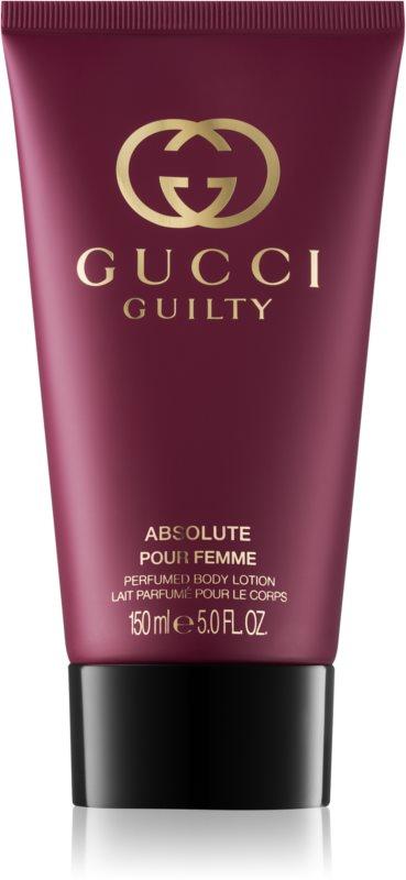 Gucci Guilty Absolute Pour Femme telové mlieko pre ženy 150 ml