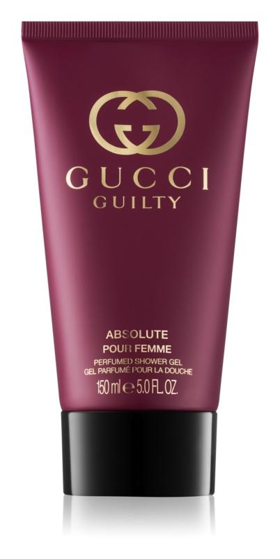 Gucci Guilty Absolute Pour Femme sprchový gél pre ženy 150 ml