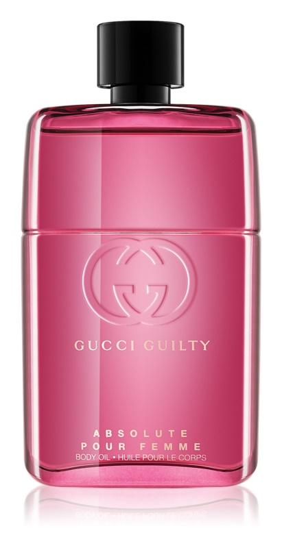 Gucci Guilty Absolute Pour Femme tělový olej pro ženy 90 ml