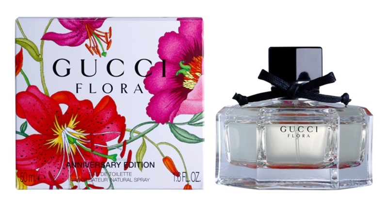 d49407b6849 Gucci Flora by Gucci Anniversary Edition eau de toilette para mujer 50 ml