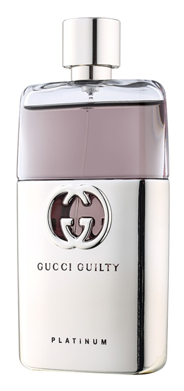 Gucci Guilty Platinum Pour Homme eau de toilette para hombre 90 ml