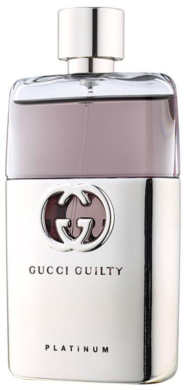 Gucci Guilty Platinum Pour Homme toaletní voda pro muže 90 ml