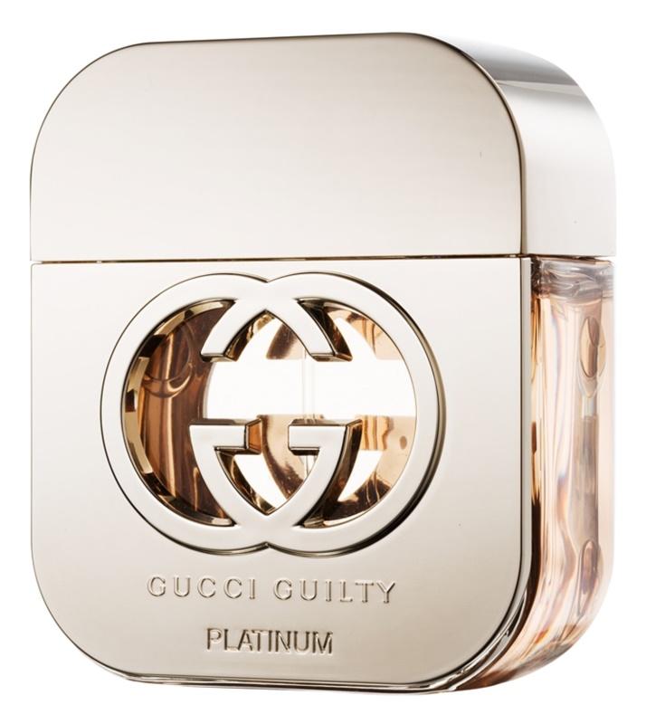 Gucci Guilty Platinum woda toaletowa dla kobiet 50 ml