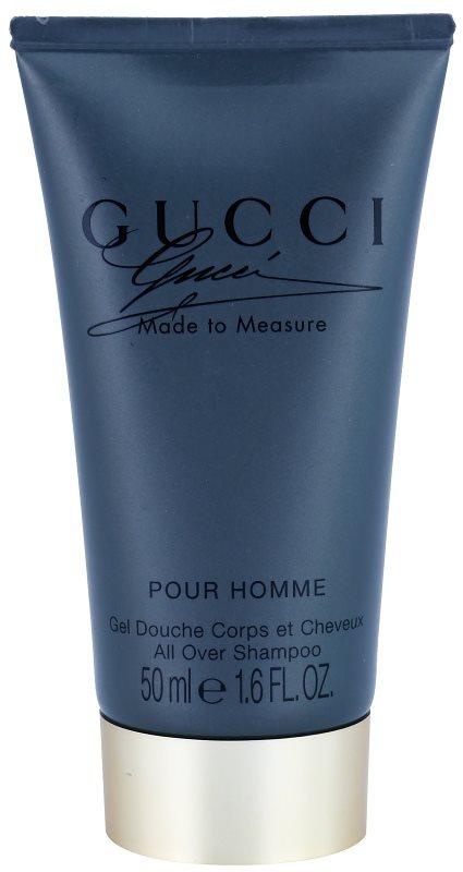 Gucci Made to Measure sprchový gél pre mužov 50 ml bez krabičky