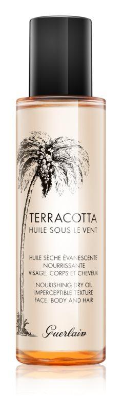 Guerlain Terracotta Huile Sous Le Vent vyživujúci suchý olej pre podporu opálenia