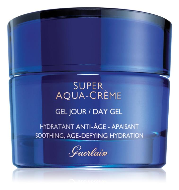 Guerlain Super Aqua gel hidratante para apaziguar a pele