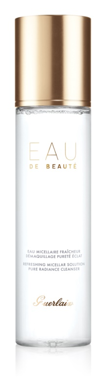 Guerlain Beauty agua micelar limpiadora para rostro y ojos
