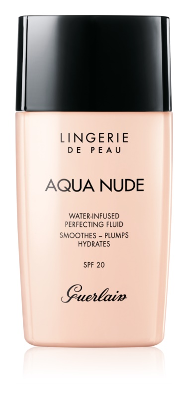 Guerlain Lingerie de Peau Aqua Nude ľahký hydratačný make-up SPF 20