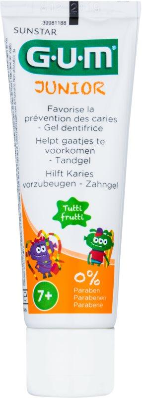 G.U.M Junior gel para dentes de crianças