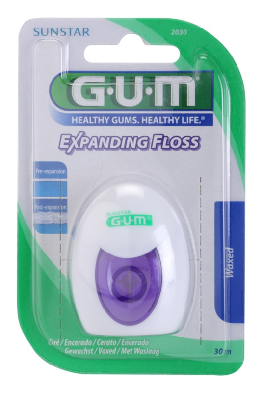 G.U.M Expanding Floss hilo dental