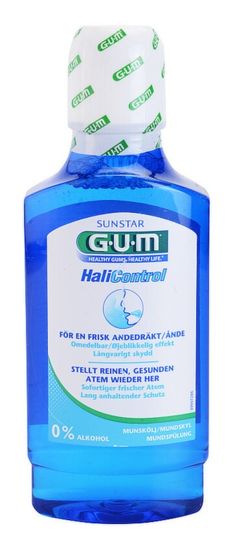 G.U.M HaliControl Mouthwash Anti-Halitosis