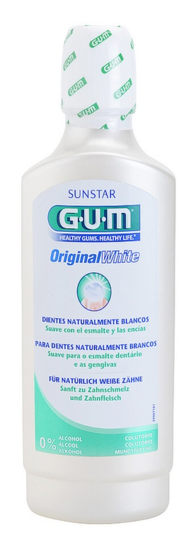G.U.M Original White enjuague bucal con efecto blanqueador