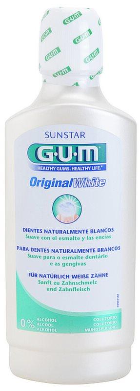 G.U.M Original White вода за уста с избелващ ефект