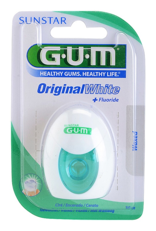 G.U.M Original White hilo dental