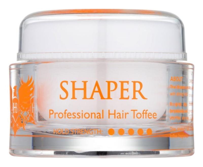 Hairbond Shaper pasta de styling capilar com aroma de caramelo