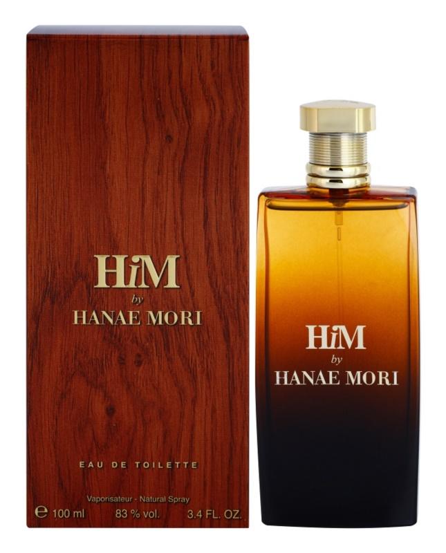 Hanae Mori HiM Eau de Toilette für Herren 100 ml