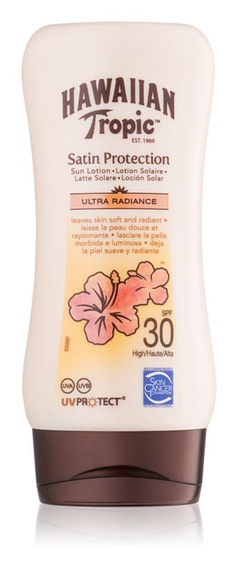 Hawaiian Tropic Satin Protection leite bronzeador SPF 30