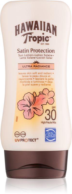 Hawaiian Tropic Satin Protection mléko na opalování SPF 30