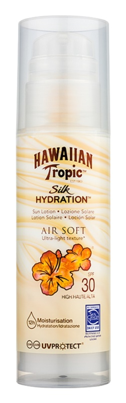 Hawaiian Tropic Silk Hydration Air Soft молочко для засмаги SPF 30