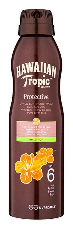 Hawaiian Tropic Protective Óleo seco de proteção solar à prova de água SPF 6