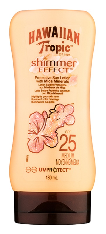 Hawaiian Tropic Shimmer Effect Suntan Milk SPF 25