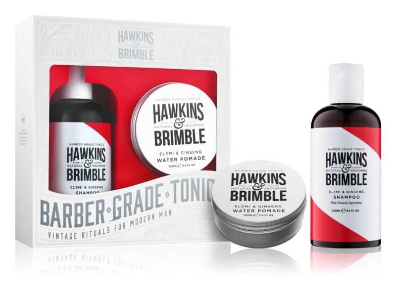 Hawkins & Brimble Natural Grooming Elemi & Ginseng kozmetická sada III.