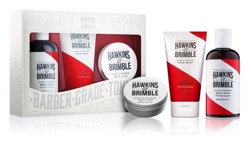 Hawkins & Brimble Natural Grooming Elemi & Ginseng косметичний набір IV.