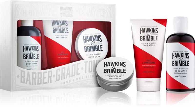 Hawkins & Brimble Natural Grooming Elemi & Ginseng kosmetická sada IV.