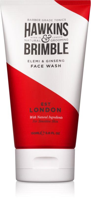 Hawkins & Brimble Natural Grooming Elemi & Ginseng gel lavant visage
