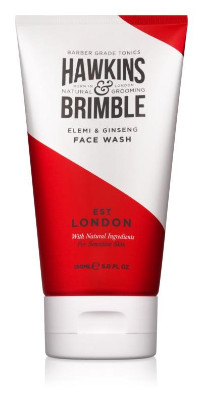 Hawkins & Brimble Natural Grooming Elemi & Ginseng mycí gel  na obličej