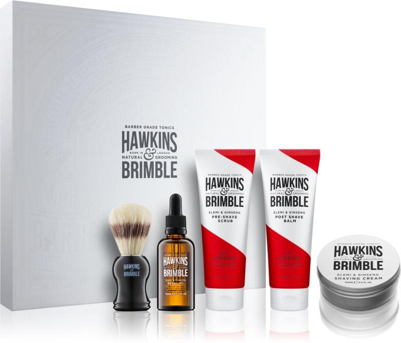 Hawkins & Brimble Natural Grooming Elemi & Ginseng kosmetická sada I.