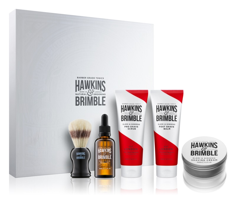 Hawkins & Brimble Natural Grooming Elemi & Ginseng lote cosmético I.