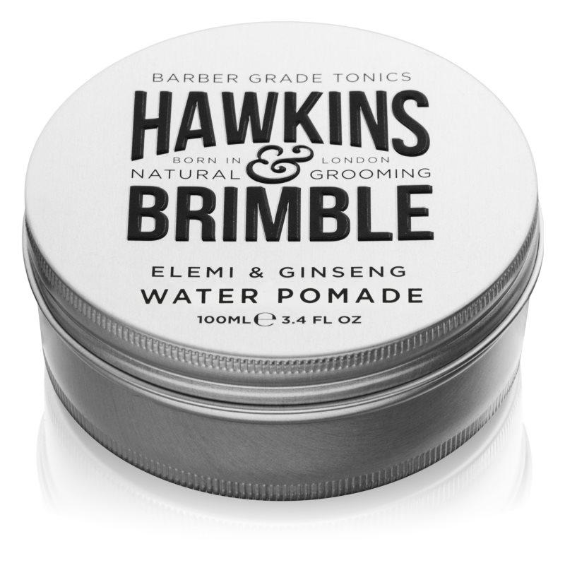 Hawkins & Brimble Natural Grooming Elemi & Ginseng pomada za lase na vodni osnovi