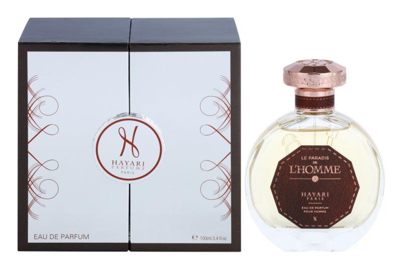 Hayari Parfums Le Paradis de L´Homme Eau de Parfum for Men 100 ml