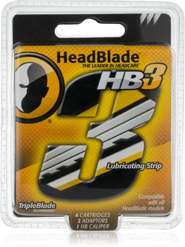HeadBlade HB3 nadomestne britvice