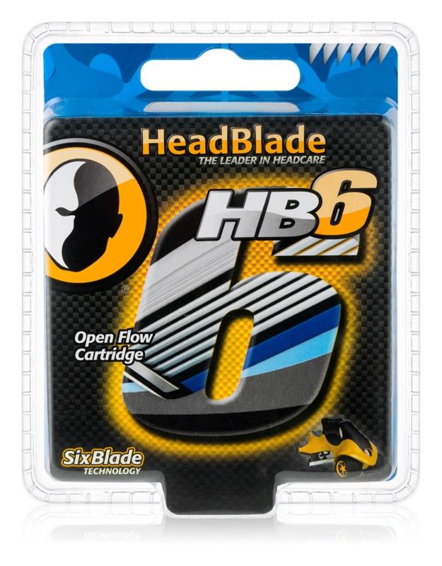HeadBlade HB6 náhradné žiletky