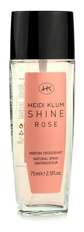 Heidi Klum Shine Rose deodorante con diffusore per donna 75 ml