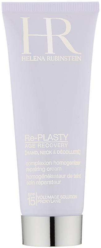Helena Rubinstein Re-Plasty bőrmegújítő krém kezekre, nyakra és dekoltázsra SPF15