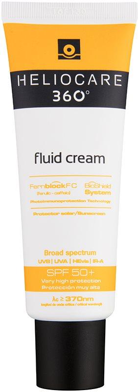 Heliocare 360° Fluid-Creme zum Bräunen SPF 50+