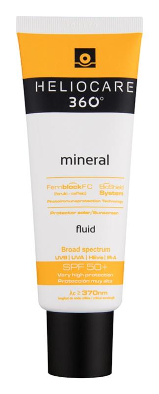 Heliocare 360° mineralische Fluid-Creme zum Bräunen SPF 50+