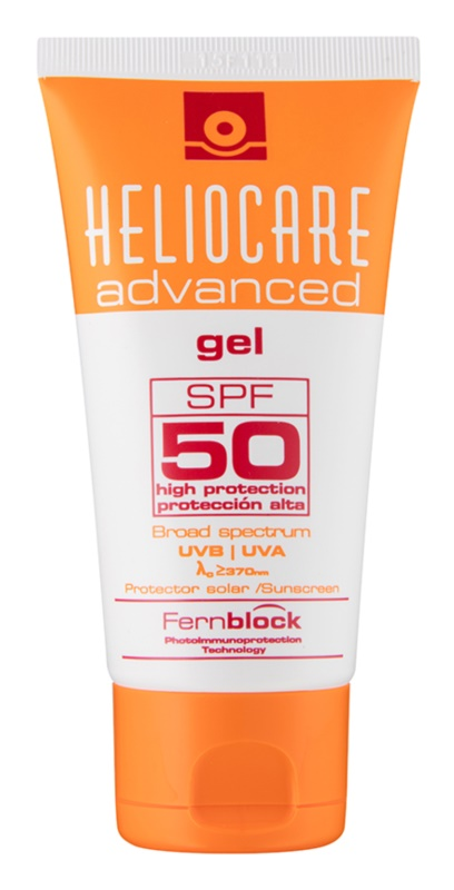 Heliocare Advanced gel bronceador  SPF 50