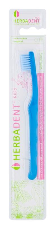 Herbadent Kids zubní kartáček pro děti extra soft
