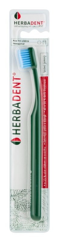 Herbadent Hexagonal brosse à dents extra soft
