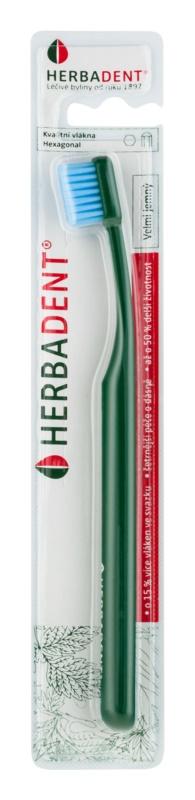 Herbadent Hexagonal zubná kefka extra soft