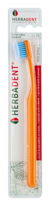 Herbadent Hexagonal četkica za zube extra soft