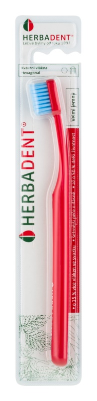 Herbadent Hexagonal Extra Soft Toothbrush