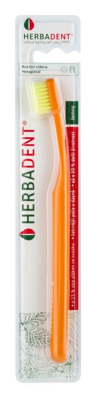 Herbadent Hexagonal Soft Zahnbürste